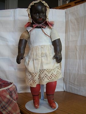 Black Alabama Baby by Ella Smith Doll Co Made in 1905 in Alabama Very RARE | eBay  auction closed at $2849.99