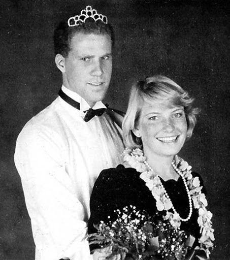 Will Ferrell at the Senior Winter Ball at University High School in Irvine, 1986