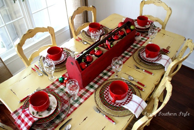 Savvy Southern Style: Christmas Breakfast Table