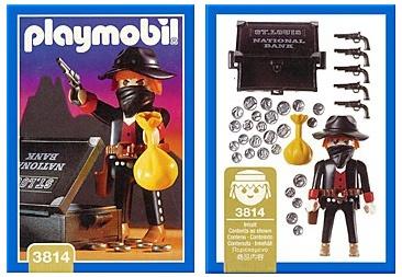 PLAYMOBILE 3814 Bandit 1995