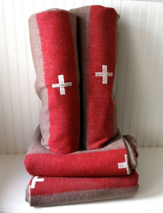 25 percent off SALE   authentic Swiss Army wool by OdeToJune,