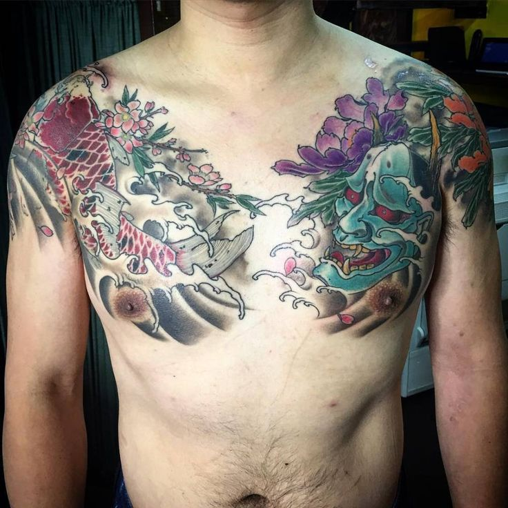 Neo Japanese Tattoo: 8 Best Neo Japanese Tattoos Images On Pinterest