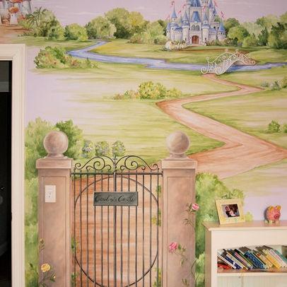 21 best garden wall murals images on Pinterest   Murals, Mural ideas ...