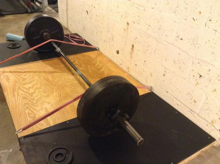 how to build a deadlift platform for bands