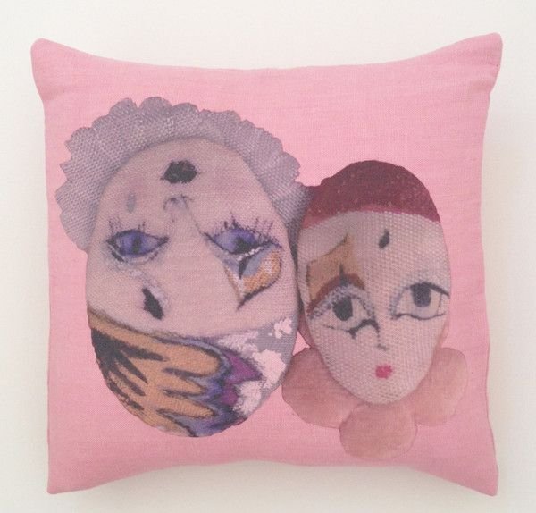 Anciennes Twins pillow collection by Modeler!