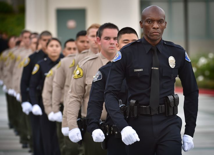 Garden Grove PD Reserve Officer John Ojeisekhoba leads his class, and two additional academy classes.  Selfless service. Putting others first. Holding oneself accountable. Faith in God. Setting an example. A tenacious work ethic.  These are the tenets...