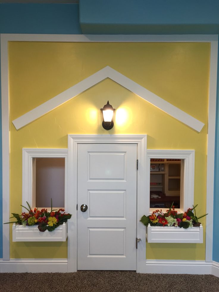 Hooray! My Under the stairs Playhouse is finished!