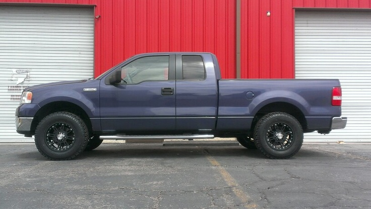 "Ford F150 2wd with 3"" Front Leveling Kit, 285/65R18 BFG K ..."