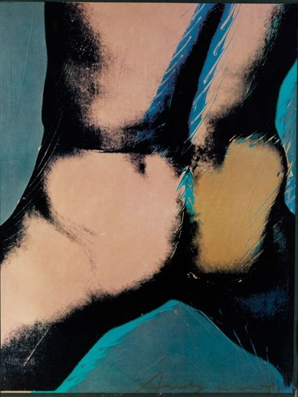 Artwork by Andy Warhol, Torso, Made of color set