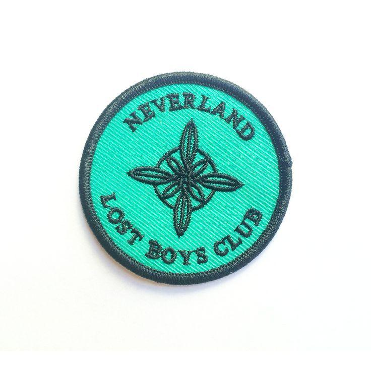 pinterest // @teengeek Lost Boys Club Crest Patch by http://www.globalfashionista.us/club-fashion/lost-boys-club-crest-patch/
