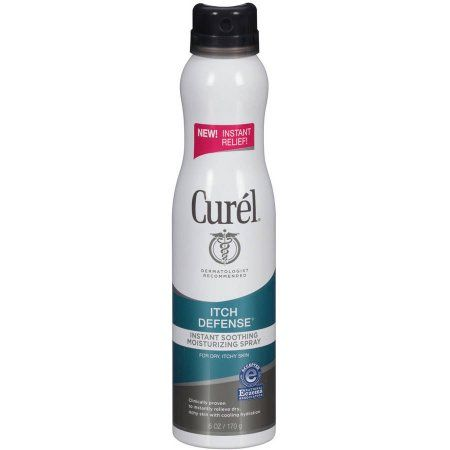 Curel Itch Defense Instant Soothing Moisturizing Spray, 6 oz - 4.5 out of 5 stars by 399 reviewers Walmart.com