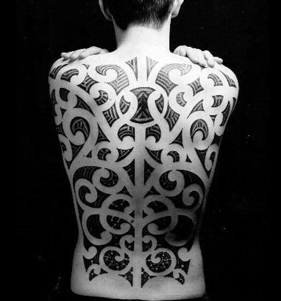 60 tribal back tattoos for men bold masculine designs space tattoo design tribal pinterest. Black Bedroom Furniture Sets. Home Design Ideas