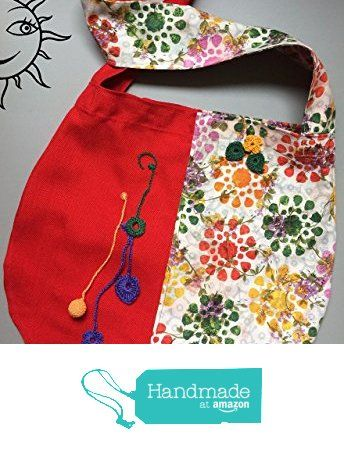 BORSE SOLELUNA - grande borsa a tracolla di stoffa rossa e fantasia - pezzo unico fatto a mano da Soleluna handmade creations https://www.amazon.it/dp/B072FMFPH1/ref=hnd_sw_r_pi_dp_vyjmzbJVA61H6 #handmadeatamazon