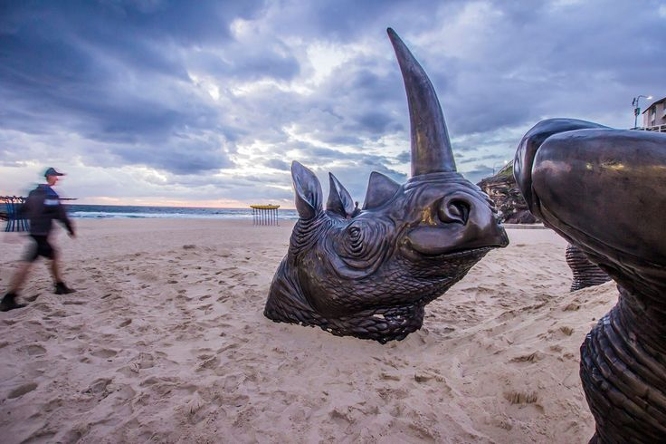 FINEARTSEEN - Introducing Shandu, The World's Biggest Rhino Sculpture created by Australian artists Gillie and Marc to raise awareness of the growing risk of endangerment to rhinos. Find out more here https://www.fineartseen.com/2016/10/24/introducing-shandu-the-worlds-biggest-rhino-sculpture/ and if you are in Sydney, be sure to visit Shandu in person at Sculptures By The Sea until November 5th.