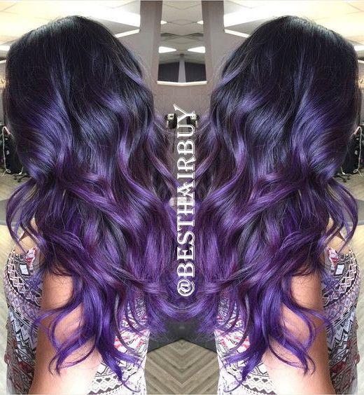 Best 25 Purple Ombre Ideas On Pinterest  Ombre Purple Hair Ombre Hair Colo