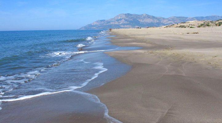 Patara beach shore in Fethiye http://uzumlu-info.com