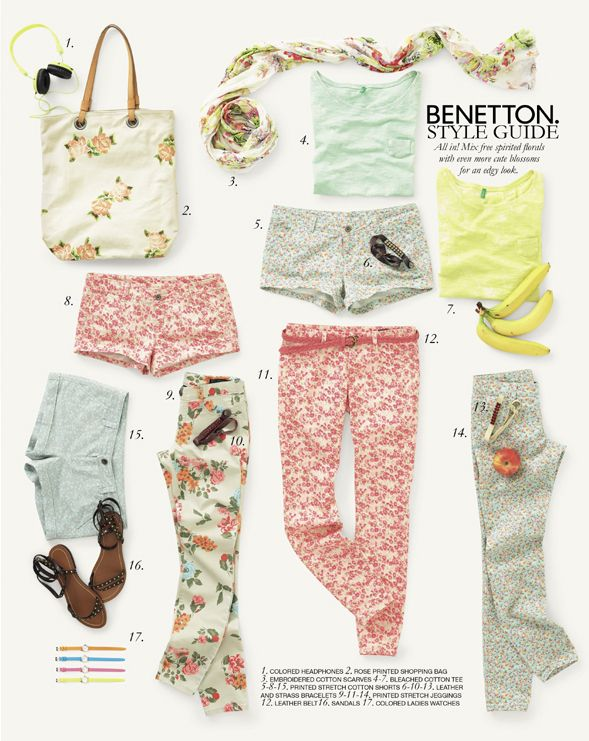 United Colors of Benetton Spring 2014 Woman and Man Collection
