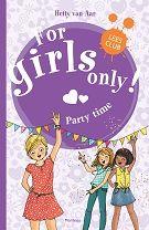For Girls Only! Party Time nu tijdelijk van 13,99 vor 10,00 || Als Yelien in het plaatselijke krantje de aankondiging ziet staan voor een disco is ze door het dolle heen. Daar wil ze meteen met haar vriendinnen naartoe. De vijf meisjes kijken heel erg uit naar het feest, maar dan krijgt Yelien van haar ouders te horen dat ze niet mag gaan. Eline mag wel, en dat vindt ze oneerlijk. Zo oneerlijk dat de anders oh zo verantwoordelijke Yelien haar ouders vertelt dat ze die avond bij Eline gaat…
