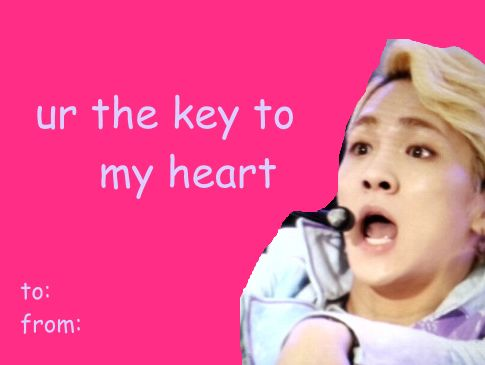 344 best Kpop Valentines Cards images on Pinterest  Kpop