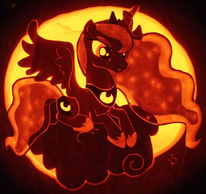 My little pony jack o lantern pumpkin gamer life
