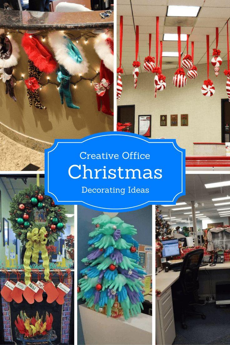 Creative Office Christmas-Decorating Ideas