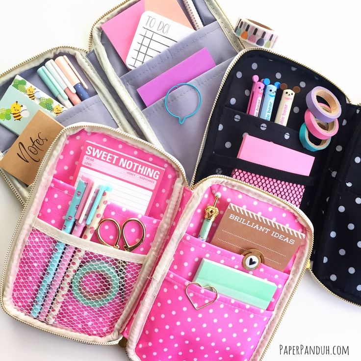 Image of Planner Supplies Case - Websters Pages Folio from paperpanduhh