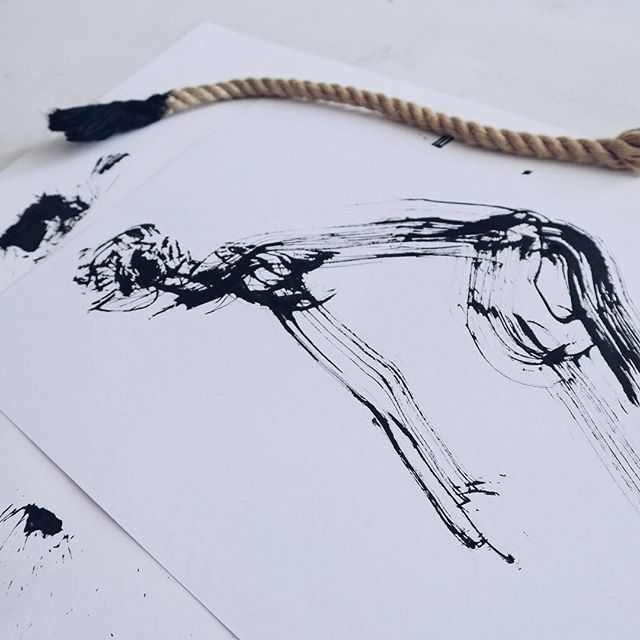 Rope painting. #everydayfigures