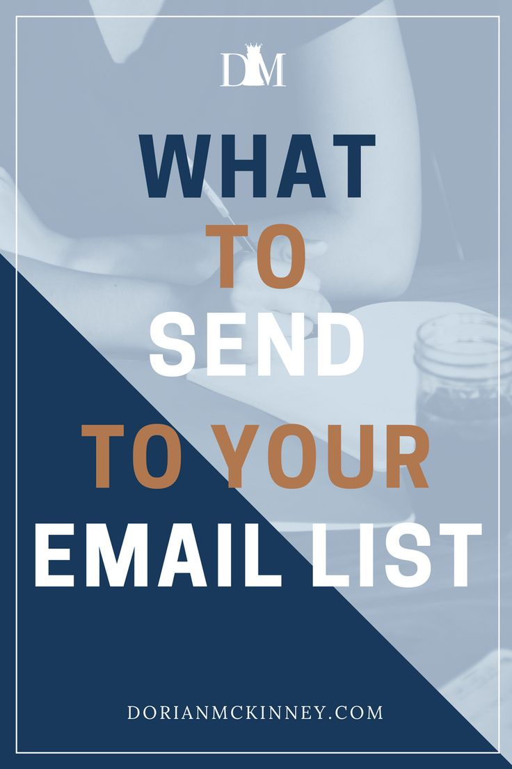 Do you know what types of emails you should be sending your email list? Here are 10 email messages you can send to your list.