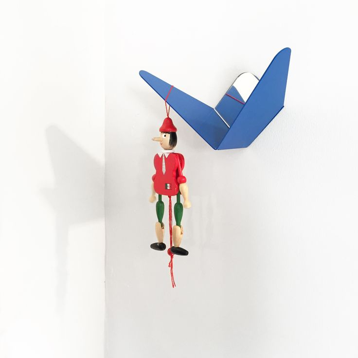 What is Pinocchio doing there? #saturdaymorning #butterfly coat hook by #mwa #makerswithagendas #mwadesign #agendadrivendesign #mwagram #pinocchio #multiuse #minimallogistics