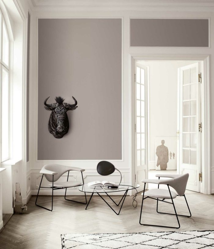 Taupe Farbe Im Innendesign