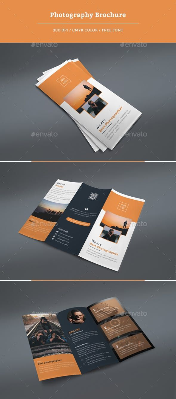 Photography Tri Fold Brochure Corporate Brochures
