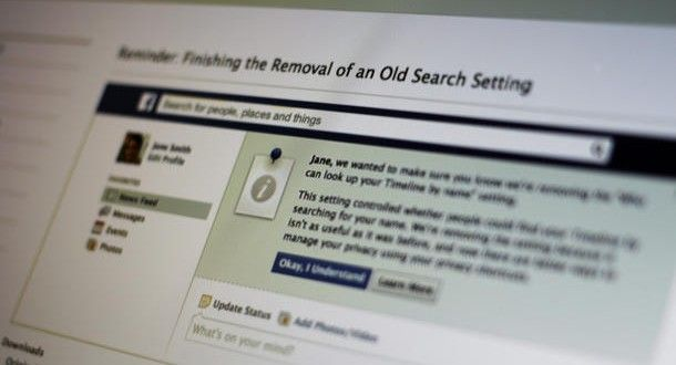 How To Deal With The New Facebook Search Settings   2Magazine