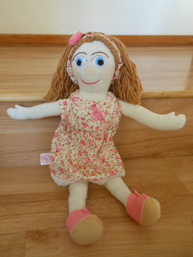 How many young girls play with rag dolls, these days?  I had a special request for this one from a little girl.