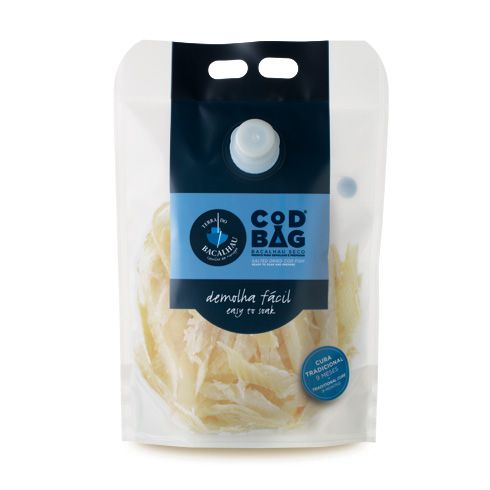 Cod Bag ® Shredded Codfish (1kg) - Terra do Bacalhau