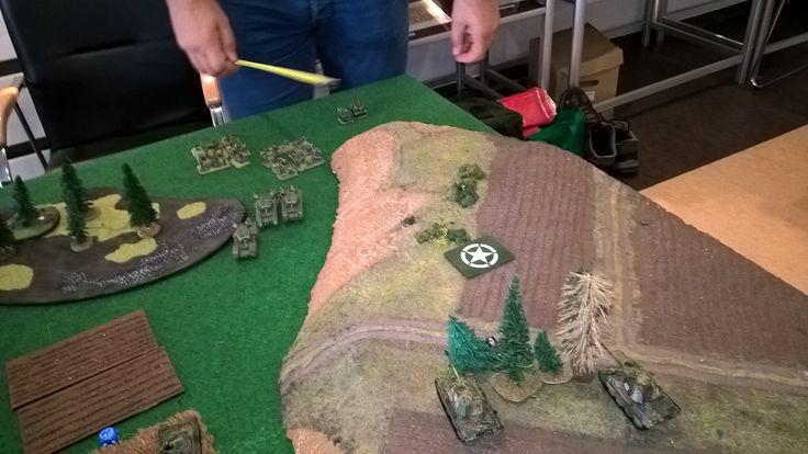 Flames of War gaming at Gliwice.