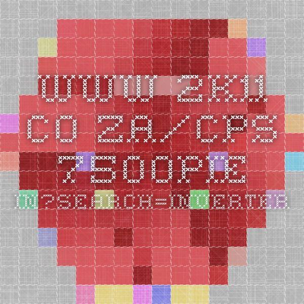 www.2k11.co.za/CPS-7500PIE-IN?search=inverter