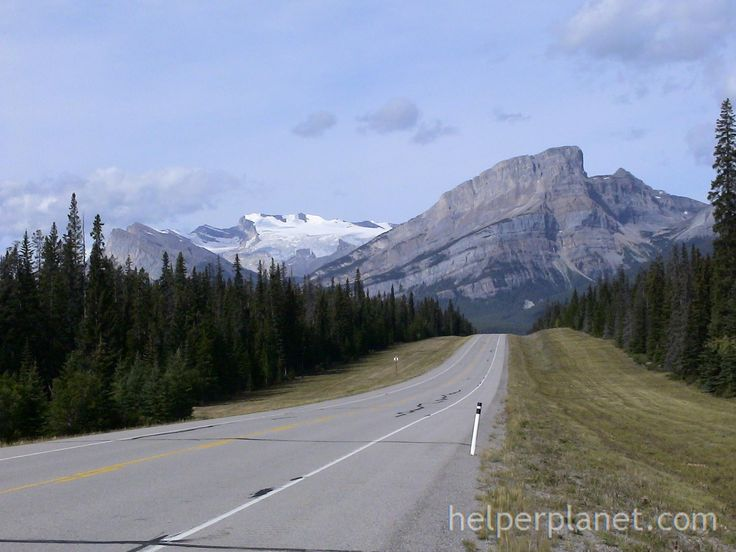 Road to Canadian Rockies