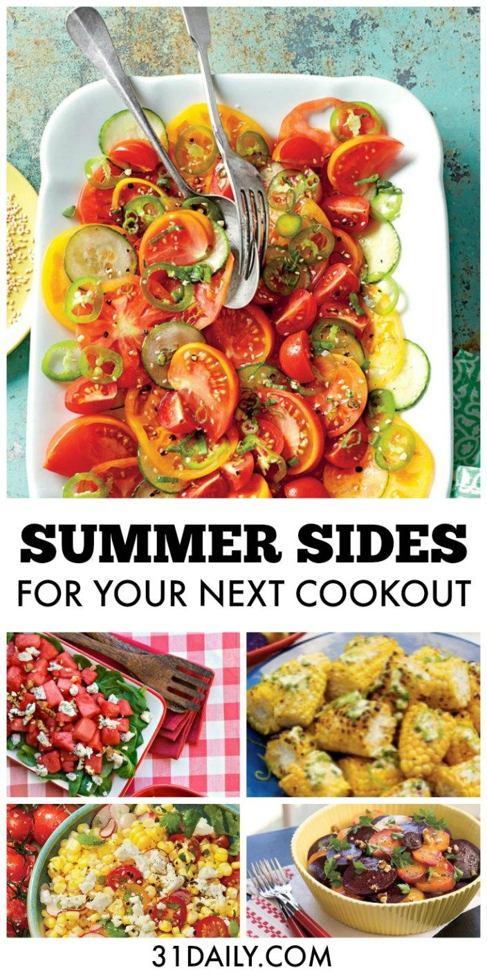 Simple Sides For Your Next Summer Cookout Grilling Summer