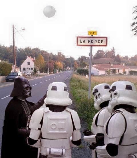 Suivez le chemin de Darth Vader vers une ville qui a été totalement choisie au hasard !