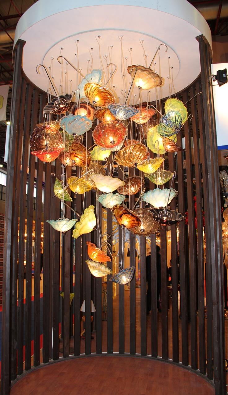 #şemsiye #cam #glass #chandelier #umbrella #glassumbrella