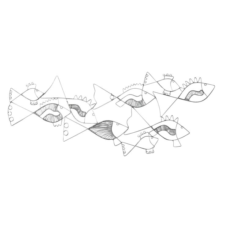 Fabulous fish wall art new products ten thousand villages