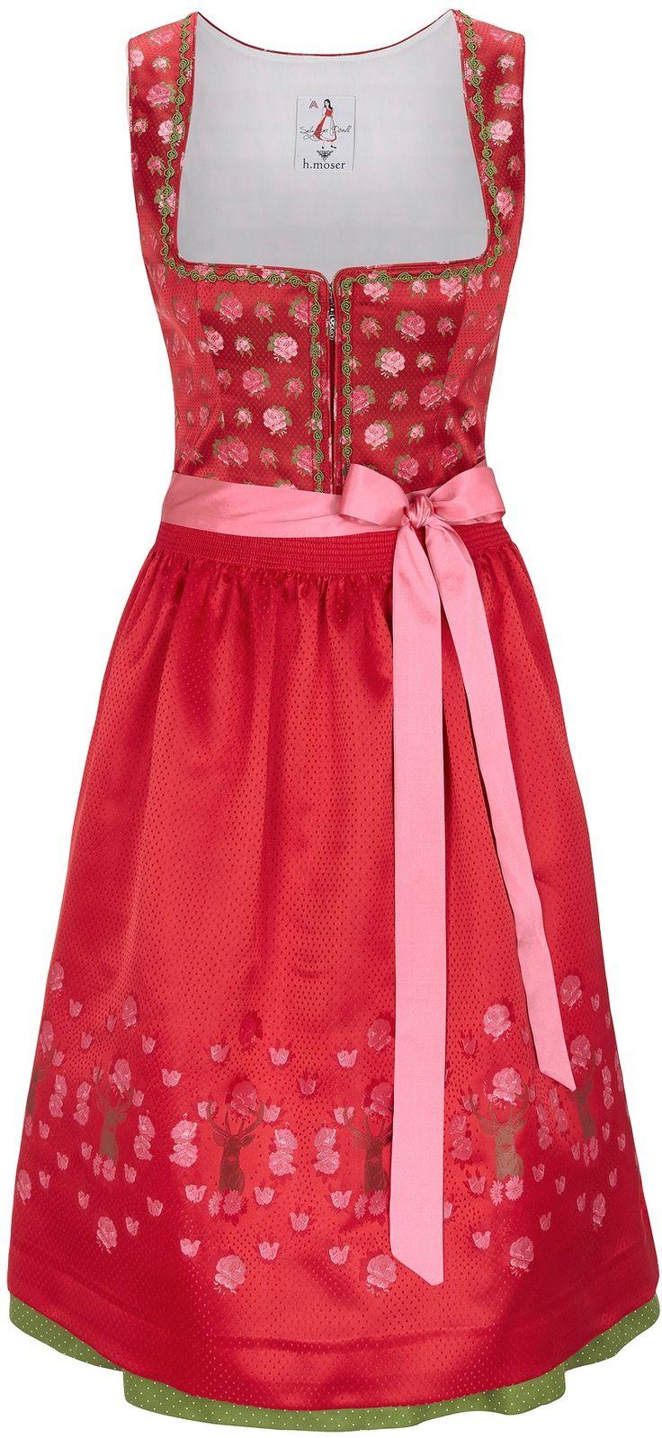 MOSER Dirndl rot online kaufen bei Trachten Modewelt > KRÜGER Kleidung