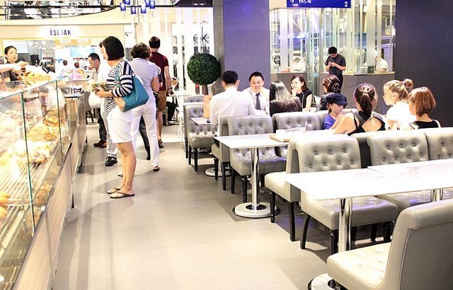paris baguette singapore | Paris Baguette Cafe-They've stores all over Korea, China and the US ...