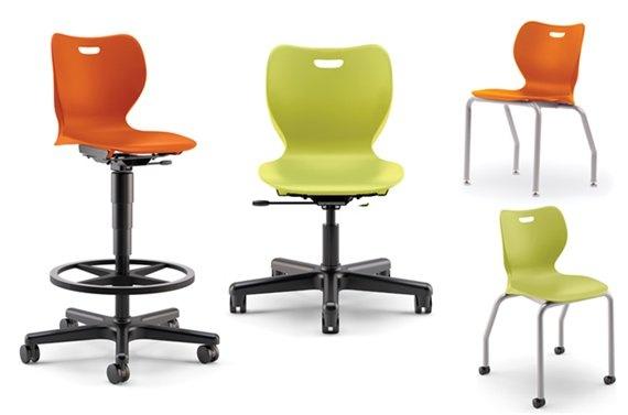 Hon chairs-drafting room