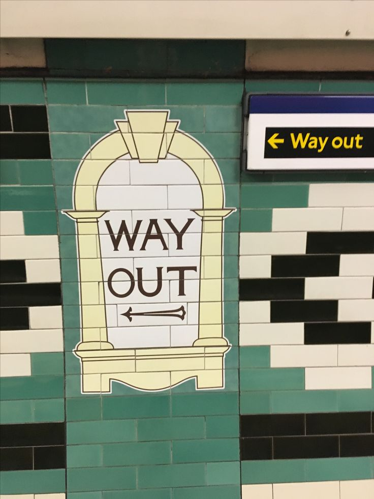 Old and new at Russell Square London Underground Station, Wednesday 1st November 2017