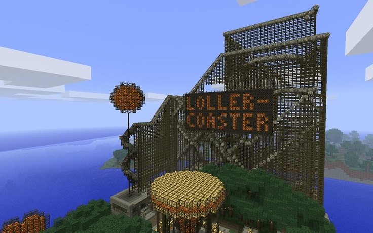 100+ ideas to try about Minecraft amusement park   Parks ...  100+ ideas to t...