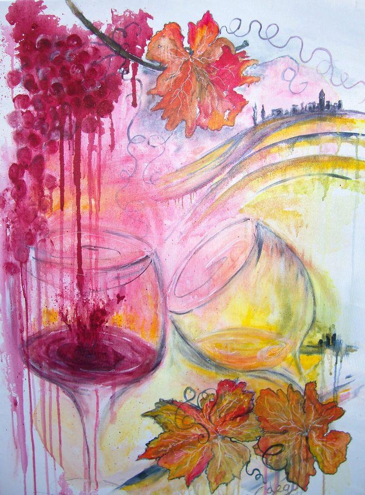 Acrilico su tela 100x70 by Maria Cristina De Amicis
