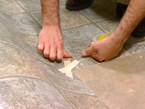 reinforce cut corners with masking tape