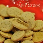 Homemade Whole Wheat Ritz Crackers and other recip…