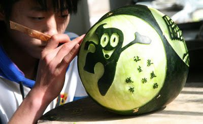 Breath taking art in Watermelon - 58 Pics | Curious, Funny Photos / Pictures